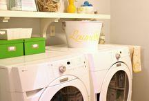 Laundry Room Inspiration  / Laundry Room, Redecoration, Rehab, Design, Organizing  / by Crafty Cree