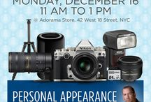Adorama NYC / Everything going on at the Adorama store in NYC! Visit us at 42 W 18th st, NYC. / by Adorama Photography