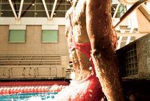swim workouts / by J