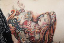 Tattoo's  / by Monique Son