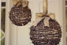 Holiday ideas / Decor and crafts  / by Joanie Blackwell