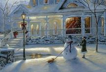Snow Scenery / by Wilma Million