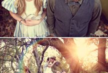Whimsical Engagement / Here are some ideas I came up with. Please feel free to add or comment on any of them!!!    / by Elyse Vergez