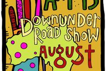 Art Is...Down Under / Art Is...You Down Under - The Road Show!!   / by Art-Is Art Retreats