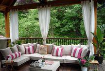 outdoor spaces / by Elizabeth Wyllie