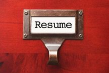 Resume and Career Portfolio Articles / by Jacqui Barrett-Poindexter