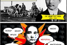 """Popus Historius / When asked how he knew so much of American history, the Vice-Governer of Helongjiang Province replied to us, """"I love studying American history...It's so *short*."""" / by Mr Lady"""