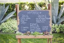 reception food and drink ideas / by Kate Johnson