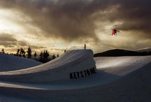Badass skiing photos / Get your fix of blower pow, burly cliffs, perfectly sculpted terrain park features and loads more. / by Freeskier Magazine