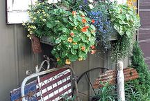 garden ideas / by Debra Booth Witherspoon