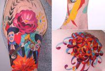 Beautiful/weird tattoos / by Georgette