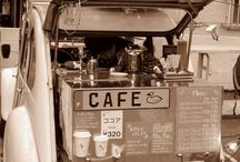 Cafe au lait / Cafes, Restaurants, Pubs, and Bars Mood Board / by Monica Mahl