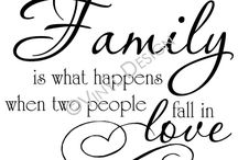 Family / by Lacey Acuff