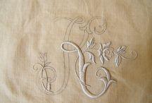 Embroidery / Broderie por Olivia Daye