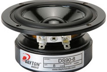 Dayton Audio Designer Series Speakers / Dayton Audio speakers from the Designer Series. Each product is designed and engineered in the US.  / by Parts Express