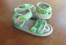 crochet - booties / by andy henry