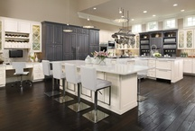 Omega Cabinetry / Luxury design ideas using cutom cabinetry. Follow us for infinite possibilities. http://www.omegacabinetry.com/ / by MasterBrand Cabinets