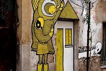 DESIGN: street art / by Leah Kirsten