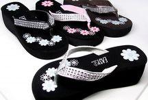 Flip flops<3 / I love flip flops.  / by Stephanie Perry
