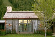 home exterior / by Christi @ Burlap and Basil