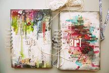>>Art Journaling love {AOS} / Art journaling we love / by AlltomScrap