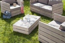outdoor furniture / by Tammy Weterrings