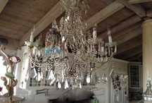 CHANDELIERS & SCONCES / LIGHTING FOR THE HOME / by Lucy Torres