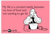 The War Between My Love of Food... / ...and My Desire to Stay Skinny :) / by Sydney Hart