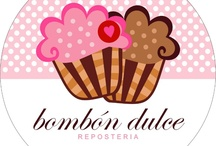 Something sweet / If you need somethig sweet, just call us! Lo mejor de bombón dulce en reposteria / by Nati Borbon