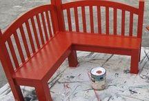 Crib repurpose project / by Christina Hish