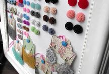 Jewelry display  / by Emily Reed