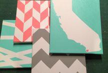 Canvases!!!!:)) / by Halee C Bundren