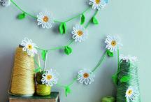 Crochet flowers / by Selena Snow
