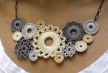 crochet jewerly / by Nancy Dawson