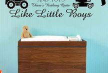 Evan's Big Boy Room / by Jessica Pike