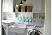 laundry room / by Michelle Zill
