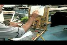 Oil Painting Techniques / by Steve Caudell