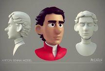 3d Characters / by Nikos Skoutaris