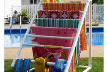 pool/backyard items / by Kathi Jo Wolf