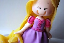 12 - Cakes: GIRLS (princess, fairies, etc.) / by Paula Rodrigues