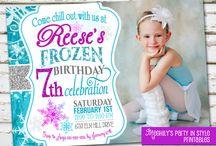 Frozen birthday Party / by Joan McCusker