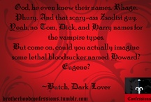 Black Dagger Brotherhood / by Carmen Hochsprung