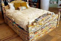 Book furniture / Books as furniture / by Short Story Lady