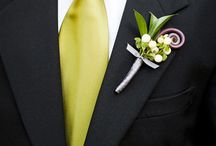 Boutonnieres / Visit our other Boards dedicated to EVERYTHING WEDDING / by Debi Brickell