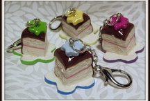 Food Stitch Markers / I make beautiful handmade stitch markers. / by Twtywill Yarn Accessories