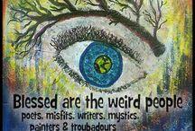 Weirdness / by Shrink Wrap 4 Me