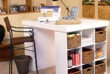 Sewing and craft room ideas / by Barbara Trotsky