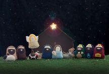Christmas Felt Nativity / by Gayle Barrick
