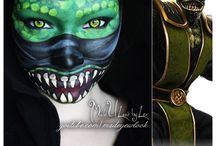 Cosplay makeup / by Kathy Faye