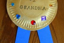 Grandparent Day Crafts / by Maria Whitby